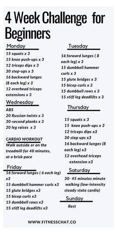 beginner workout at home women