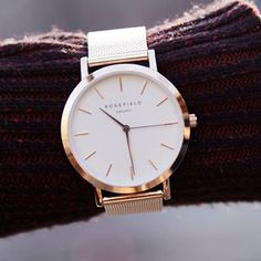 Style your watch differently; over long sleeves.