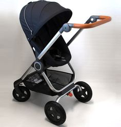 Stokke Scoot V2 Stroller Review - In Black Color