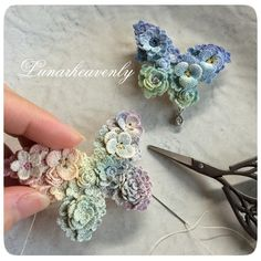 crochet..wow! What tiny stitches!
