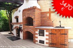 Discover recipes, home ideas, style inspiration and other ideas to try. Barbacoa, Design Case, Home And Living, Pergola, Backyard, Outdoor Decor, Moldova, Ovens, Grills