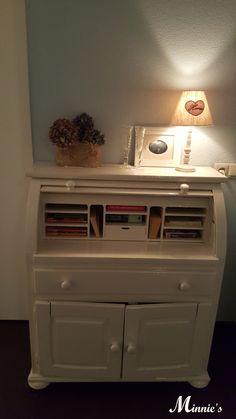 Secretaire, brocante, sweet, cottage style, opknapper, books