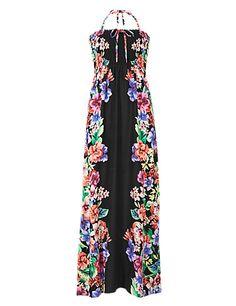 Floral 2-in-1 Maxi Beach Dress | M&S