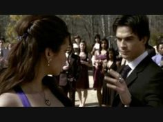 Vampire Diaries - Miss Mystic Falls - Episode 19 - Elena & Damon dancing ----- MY FAVORITE SCENE IN SEASON ONE!! <3