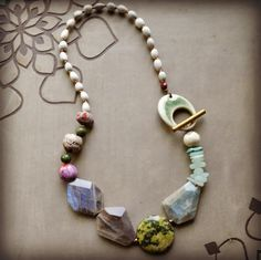 Amazing necklace by Lorelei Eurto with beads from Shipwreck Dandy Artifact Co.