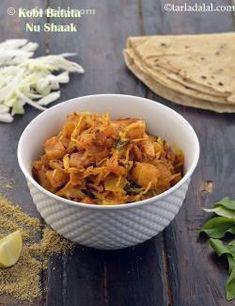 Kobi Batata Nu Shaak ( Cabbage and Potato Vegetable) recipe Aloo Recipes, Gujarati Recipes, Indian Food Recipes, Gujarati Food, Cabbage Recipes, Potato Vegetable, Vegetable Recipes, Vegetarian Recipes