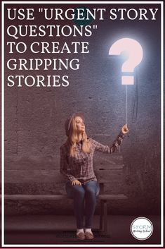 use urgent story questions to create tension is part of Writing tips - Use Urgent Story Questions to Create Tension artReference CheatSheets Book Writing Tips, Writing Quotes, Fiction Writing, Writing Resources, Writing Help, Writing Prompts, Writing Ideas, Better Writing, Writing Guide