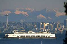 Take the ferry from Seattle to quaint Bainbridge for a lazy afternoon. Only a 35min ride one way. #scenicwa