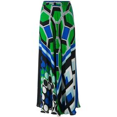 P.A.R.O.S.H. Printed Maxi Skirt ($529) ❤ liked on Polyvore featuring skirts, multicolour, colorful skirts, colorful maxi skirts, ankle length skirt, multi color skirt and multi color maxi skirt