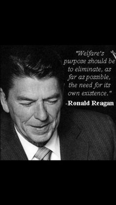 Ronald Reagan.. A smart man