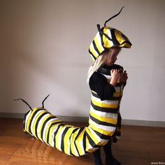 This caterpillar costume is amazing! -- 30 of the Best Halloween Costumes for Kids - Hither & Thither Halloween School Treats, Diy Halloween Costumes For Kids, Cute Costumes, Baby Costumes, Halloween Party, Animal Costumes For Kids, Homemade Costumes For Kids, Best Kids Costumes, Children Costumes