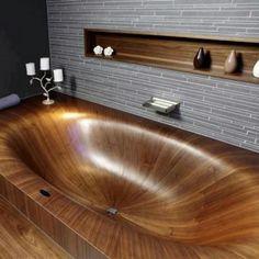 Que banheira!
