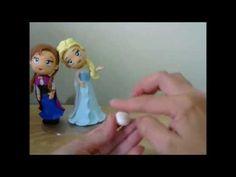 Turma do Frozen - Olaf - PARTE 1 - Canal Aula de Biscuit