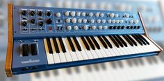 2015 NAMM shows a promising release of a new analog synthesizer Music Sequencer, Music Production Equipment, Piano, Hammond Organ, Namm Show, Guitar Lessons, Guitar Tips, Drum Machine, House Music