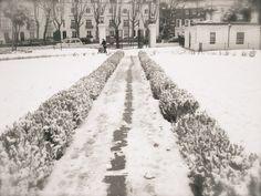 snow .. london england