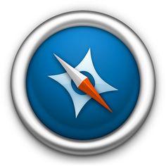 Safari - 1 icon by c55inator #icon #design #free #download #freebie