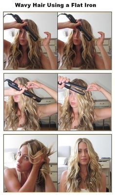 Straight Hairstyles, Cool Hairstyles, Wedding Hairstyles, Rainy Day Hairstyles, Curling Iron Hairstyles, Braid Hairstyles, Flat Iron Curls, Best Hair Straightener, How To Curl Your Hair