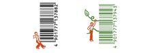D-barcode japanese creative barcodes 11