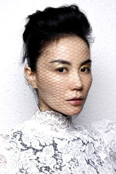 Faye Wong | Make-up by ZING   ( From ZING's Weibo )