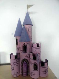 construire chateau fort bricolage enfant