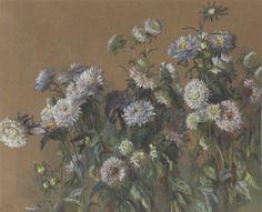 Wildflowers, 1885 by Elizabeth Nourse, watercolour
