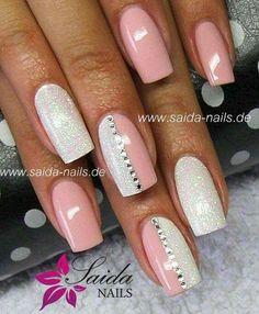 Nails ideas :classy beautiful nail art games-cute nail designs of 2013 Fabulous Nails, Gorgeous Nails, Beautiful Nail Art, Fancy Nails, Trendy Nails, Gel Nail Designs, Cute Nail Designs, Nails Design, How To Do Nails