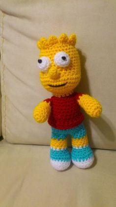 Bart Simpson Amigurumi  Patrón Gratis en Español