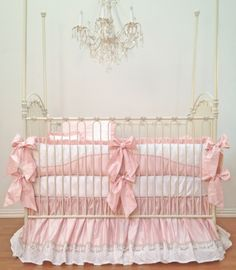 white crib bedding | click to enlarge bedding crib bedding girls unisex this stunning set ...