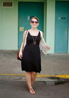 The Belted Pear | basic boho | bohemian fashion | little black dress | summer fashion