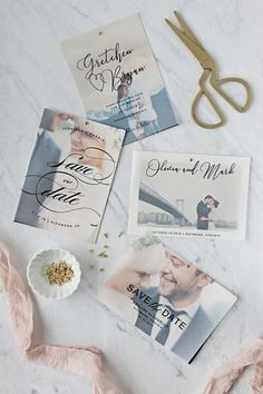 Use one of our free templates to make your own vellum save the dates. Not only are they quick and easy but your guests will love them.