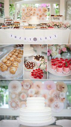 Shabby Chic Garden Wedding Ideas