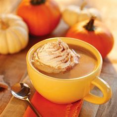 Hot Maple-Nut Cream, a rich and creamy seasonal winter beverage! | (30 ...