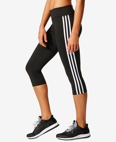 34.99$  Buy here - http://viuar.justgood.pw/vig/item.php?t=zlzq3oo10327 - D2M Three Stripes Climalite® Cropped Leggings