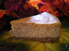 The Cheesecake Factory Pumpkin Cheesecake.