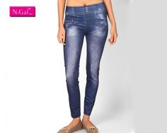 f you are one of the many fashion conscious women with an intense desire to fetch compliments then you must try this stylish legging which is made of the finest polyester spandex quality. When it comes to a smart casual look, your fashion style statement must be funky as much as possible. Get this elegant legging and make sure you team it with trendy jewellery. Look a hot chic in every moment of your life.