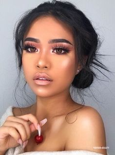 make up;make up for beginners;make up tutorial;make up for brown eyes;make up for hazel eyes;make up organization;make up ideas; Makeup Trends, Makeup Inspo, Makeup Inspiration, Makeup Ideas, Nail Ideas, Beauty Trends, Eye Trends, Makeup Set, Makeup Designs