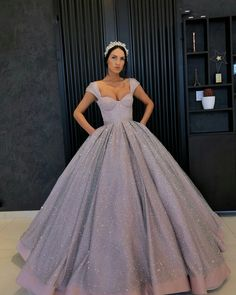 Buy directly from the world's most awesome indie brands. Or open a free online store. - - long prom dresses,ball gown evening gowns,sequin prom dresses,lilac evening dress on Storenvy Source by Lilac Prom Dresses, Big Dresses, Pretty Prom Dresses, Quince Dresses, Lilac Dress, Elegant Dresses, Beautiful Dresses, Debut Dresses, Formal Dresses