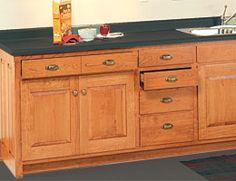 Kitchen Cabinets Woodworking Plan