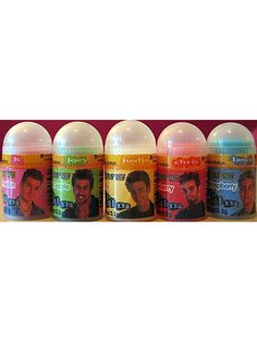 Lip Rageous 'N SYNC Lip Balms These mini balms weren't the most logical licensing partnership, but true 'N SYNC fans had to collect them all. I'd love to think that somewhere, Chris Kirkpatrick still has a stash of these lying around that uses whenever he feels pangs of nostalgia.