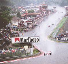 Ayrton Senna - McLaren - Belgium 1989 Spa at Eau Rouge
