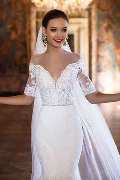 Elegant and sexy wedding dresses from the 2017 Milla Nova Bridal Collection.