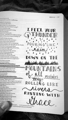 Bible Journaling - Face to Face // Mat Kearney