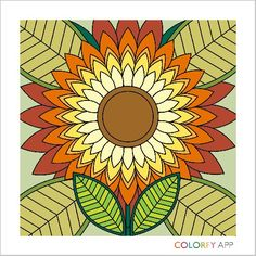Flower by @botanicabliss !  #colorfy #colorfyapp #getinspired #flowers #florals #beautiful #colorful #coloring #therapy #joy #nature #Flower #Colorfy #Nature #drawing #picture #painting