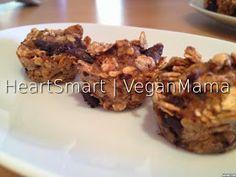 VeganMama: Μπάρες δημητριακών με 4 συστατικά   4 ingredient morning tidbits Vegan Energy Bars, Yams, 4 Ingredients, Vegan Recipes, Vegan Food, Muffin, Beef, Chicken, Breakfast
