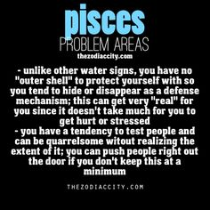Pisces traits.