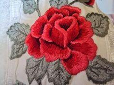 Rosemery Abrantes: Jogo de toalha em ponto matizado e areia