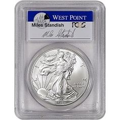 2015 American Silver Eagle $1 MS69 First Strike – Standish Signed PCGS