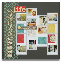 *Elle's Studio* Ordinary, Beautiful Life - Scrapbook.com by 	  Meghannandrew