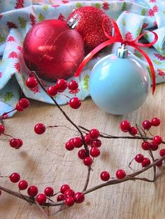 Want to decorate for Christmas in a new color? Instead of spending lots of money on new ornaments buy a can or two of spray paint and paint your old ornaments!