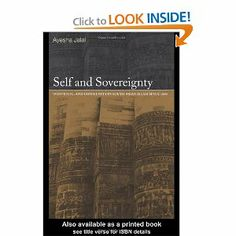 Amazon.com: Self and Sovereignty: Individual and Community in South Asian Islam Since 1850 (9780415220781): Ayesha Jalal: Books